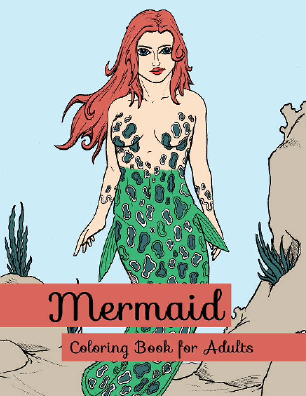Happies - Mermaid Coloring Books for Adults