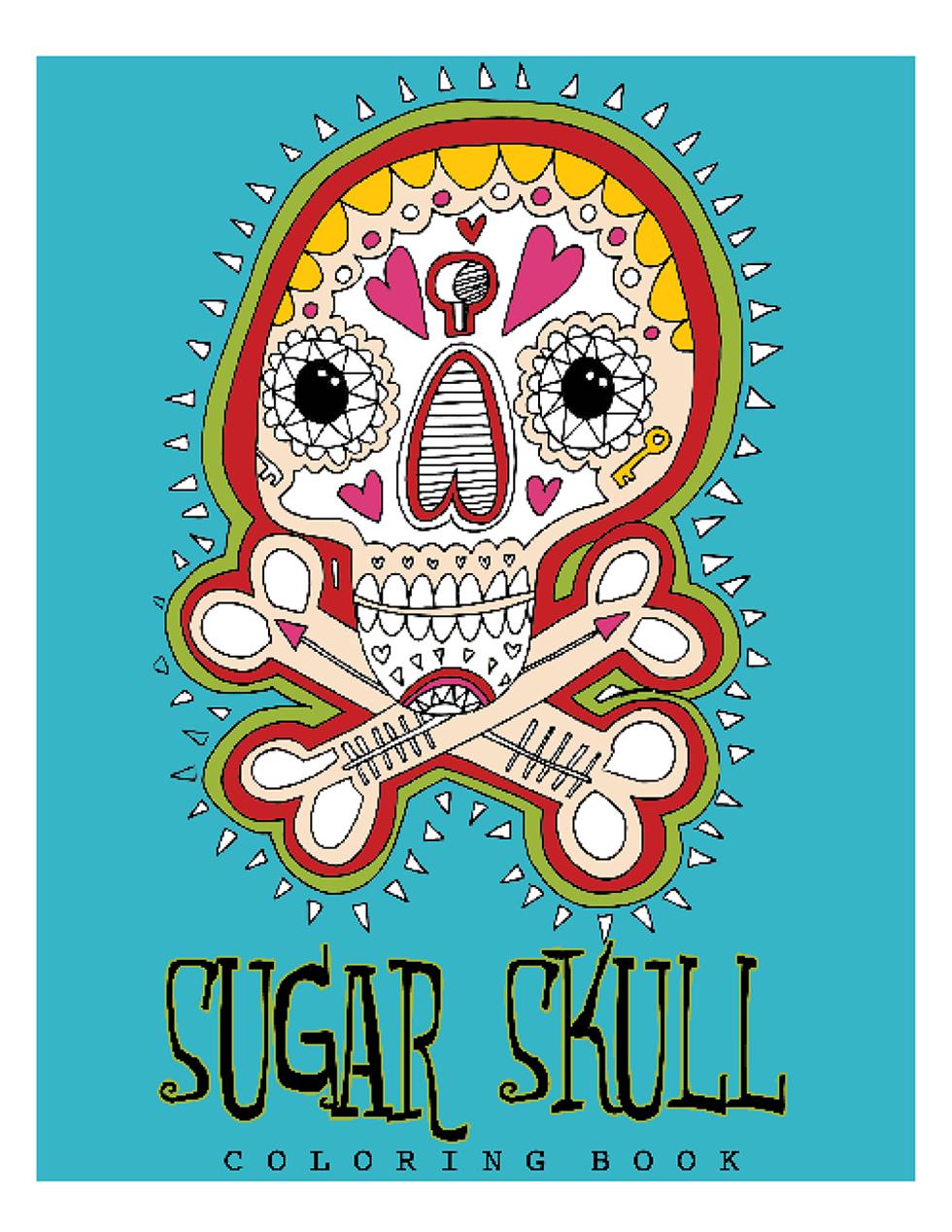 Happies - Sugar Skull Coloring Book