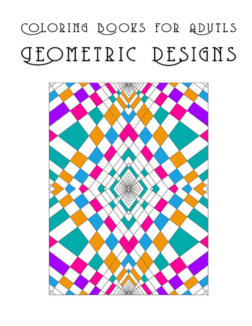 Coloring Books For Adults Geometric Designs