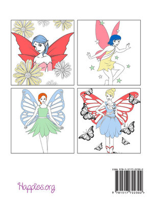 Happies - Fairies Coloring Book