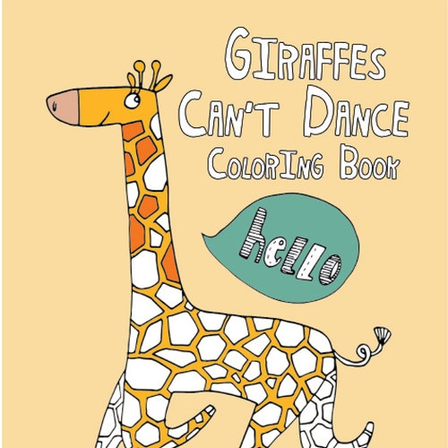 Happies Giraffes Cant Dance Coloring Book