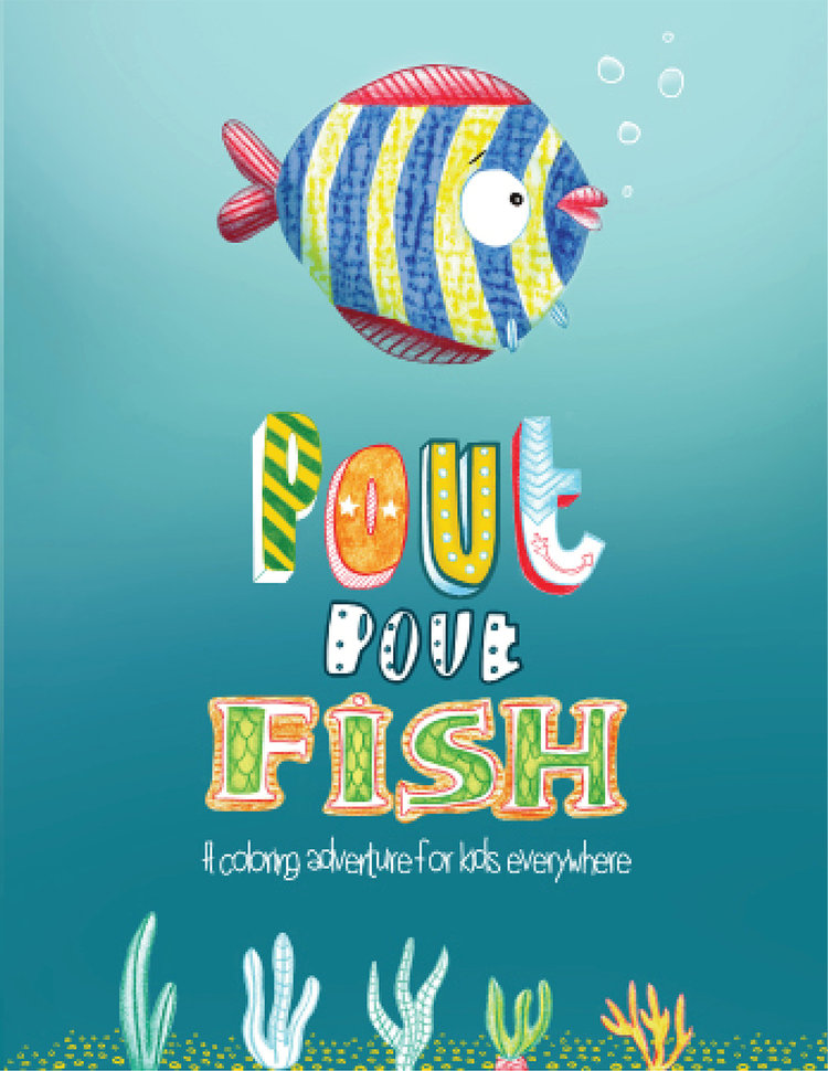 Pout Pout Fish Childrens Books for Kids