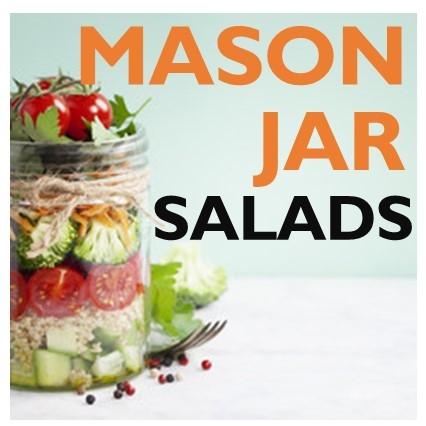 mason jar salads mason jar hacks