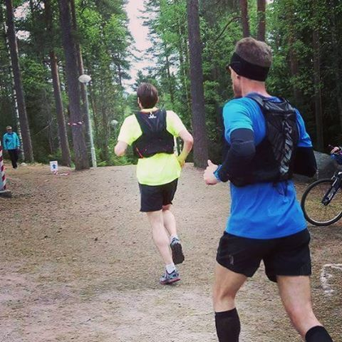 Salpausselkä Trail Run 21K done! Tough challenging course with +700m ascend. #salpausselkätrailrun #instarunners #marathonrunners #nevergiveup #marathon #lahti #polkujuoksu #trailrunning