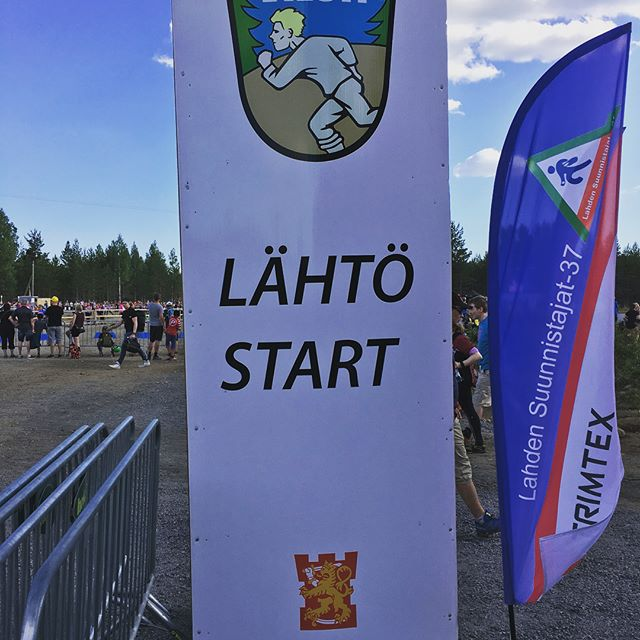 Jukola 2018 done. Still lot to learn from orienteering but lots of fun nevertheless #jukola2018 #lahtihollolajukola2018 #orienteering #rastihapot #running