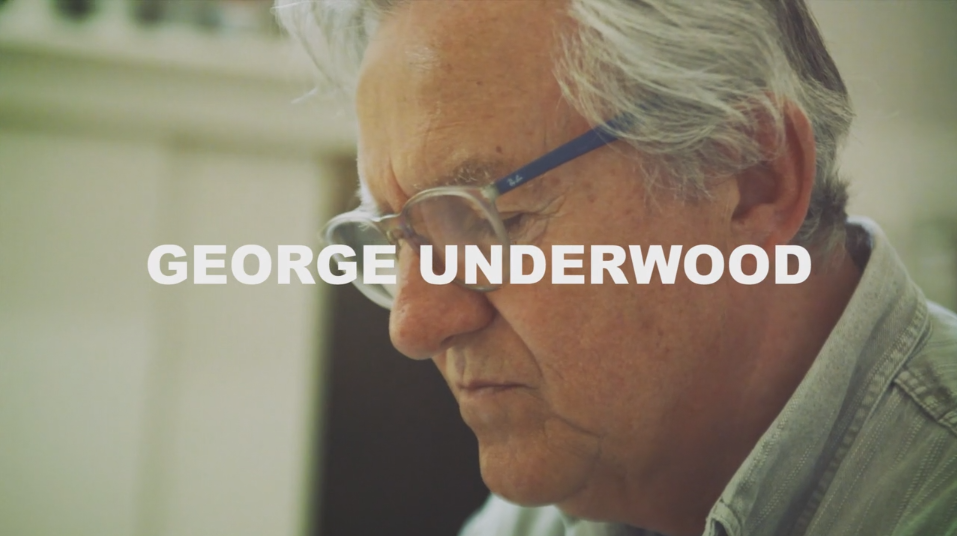 Art on a Postcard meets George Underwood