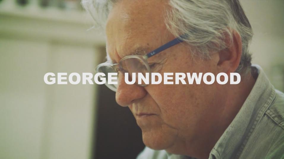 Art on a Postcard meets George Underwood