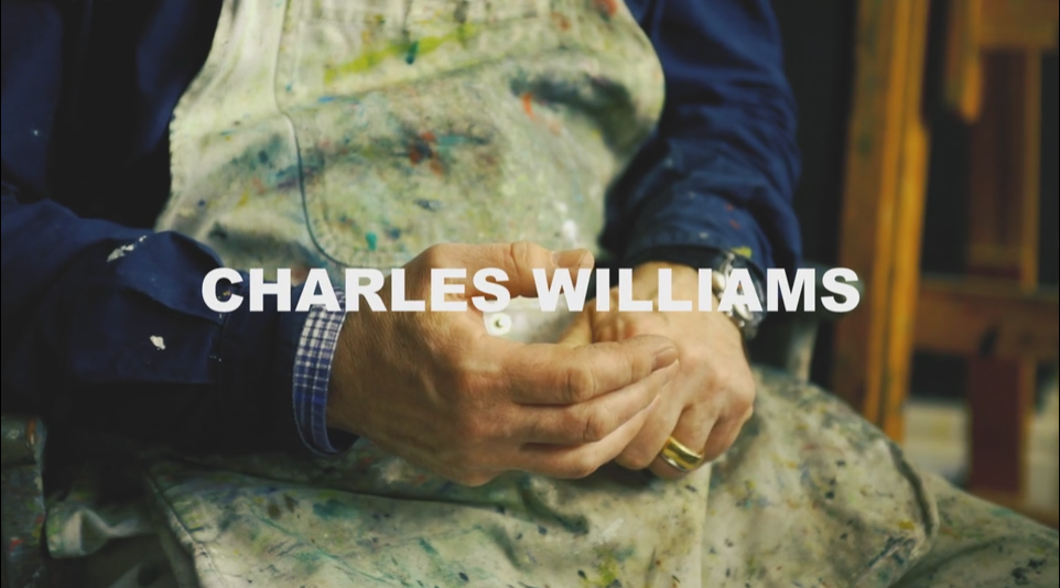 In the studio with Charles Williams