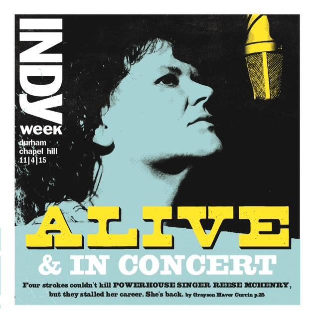 Indyweek Cover Nov. 2015.  Photography: Jeremy Lange