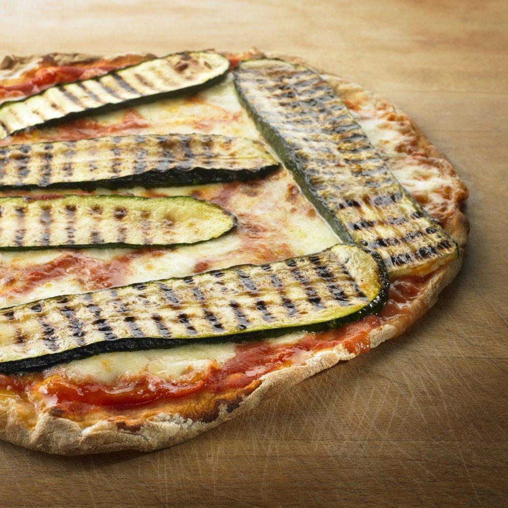 Pizza Zucchini (Courgette)