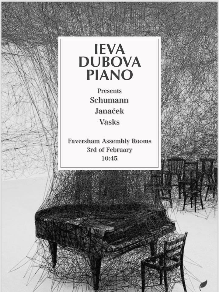 Piano Recital - Schumann 'Kinderscenen'Janacek 'In the mist'Vasks 'Little night music'
