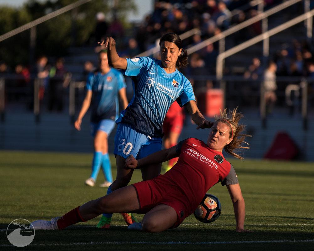 SKY BLUE FC VS PORTLAND THORNS FC -