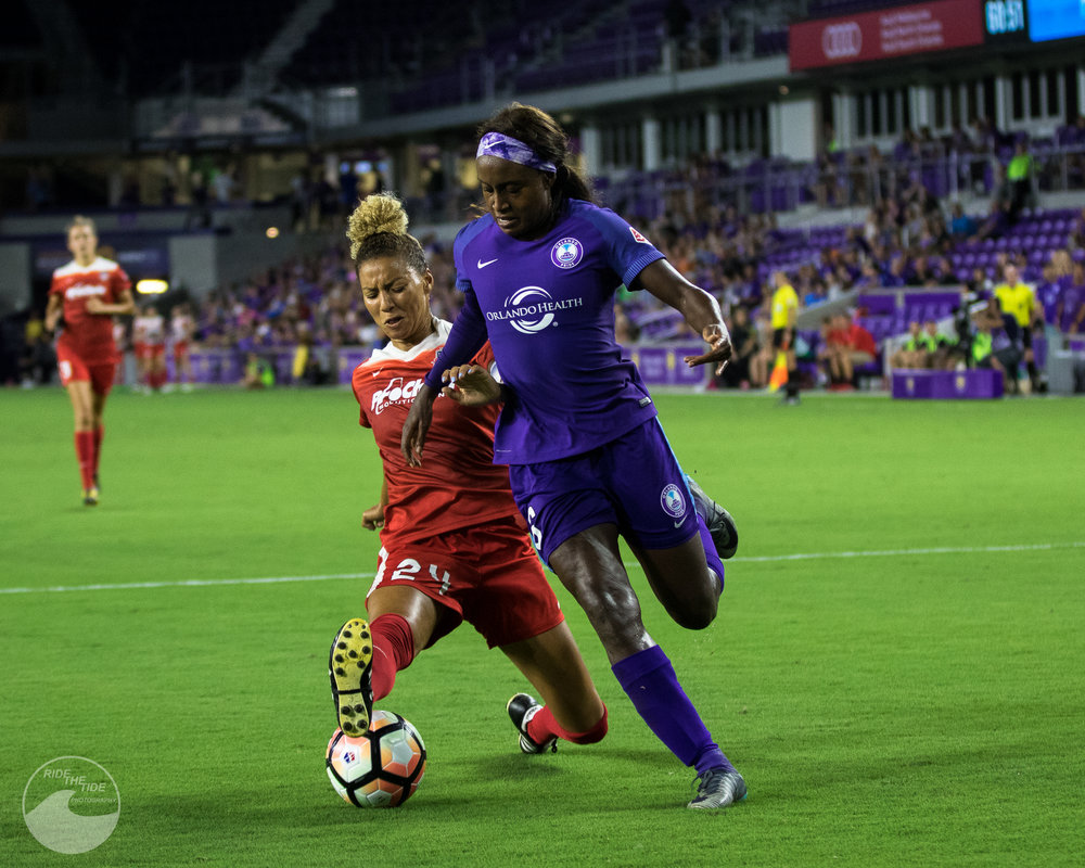 ORLANDO PRIDE VS WASHINGTON SPIRIT -