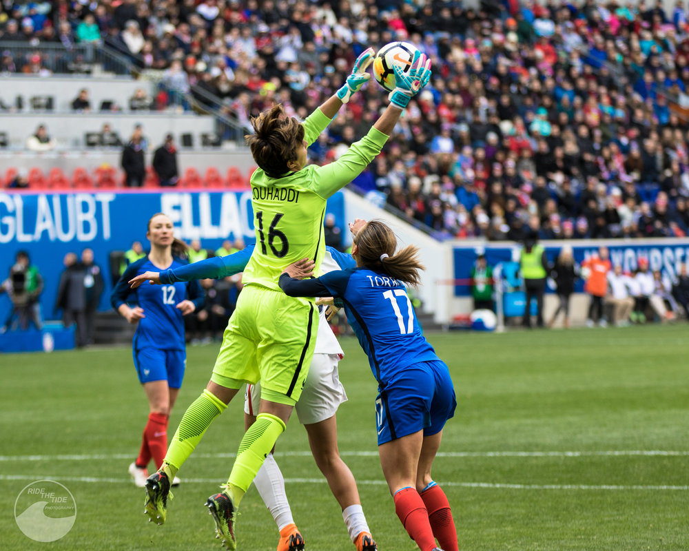 U.S. WOMEN'S NATIONAL TEAM -