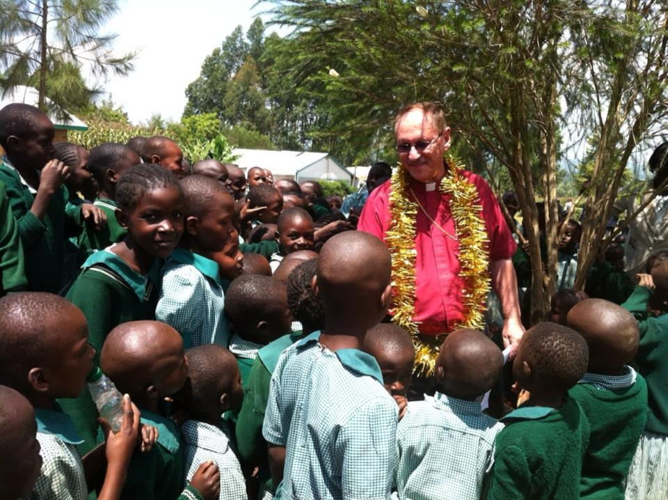 Abp. Russ McClanahan at children's  Ministry in Africa .jpg