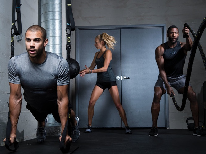 Suspension Training is a body weight exercise which helps to develop strength, balance, flexibility and core stability simultaneously. It requires the use of the TRX Suspension Trainer, a highly portable performance training tool that leverages gravity and the user's body weight to complete 100s of exercise combinations.
