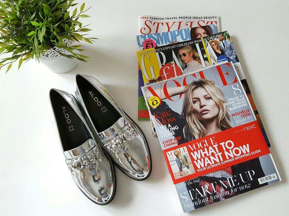Aldo Silver Embellished Loafers - ASOS