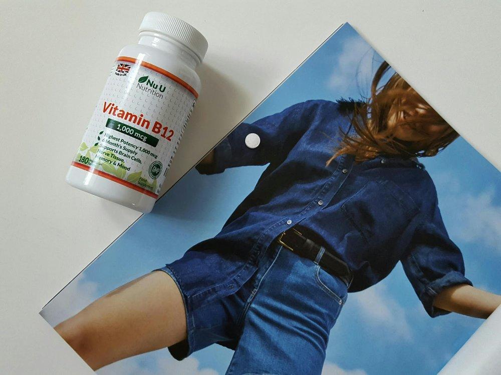Nu U Nutrition - B12 Mood, Energy & Memory Tablets