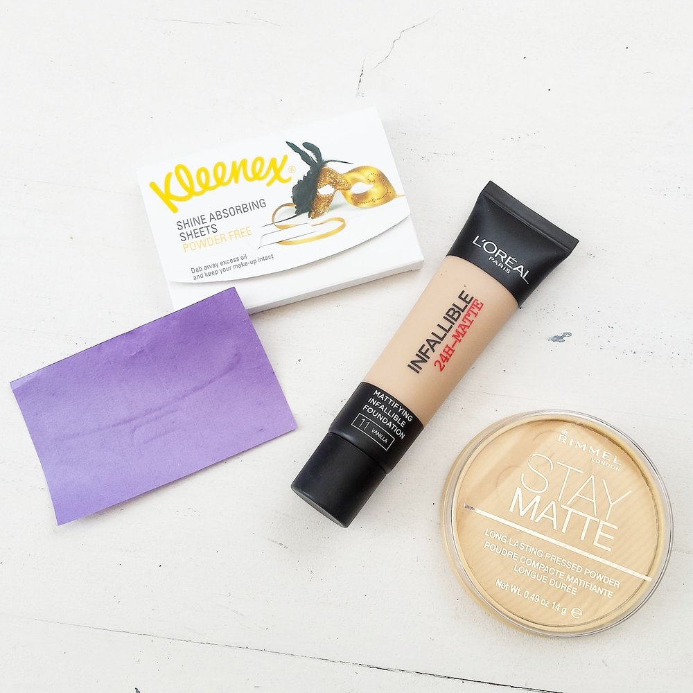 Best Drugstore Matte Make-up for Oil Prone Skin