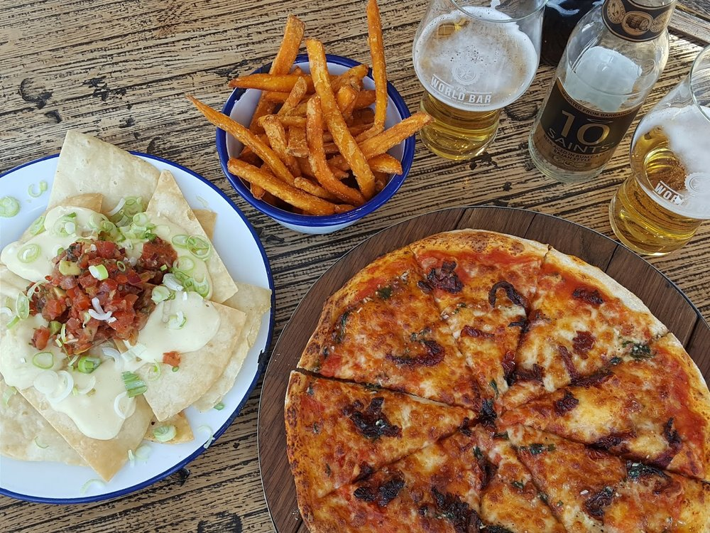 Street Food & Craft Beer in Birmingham - The World Bar - Resorts World Birmingham