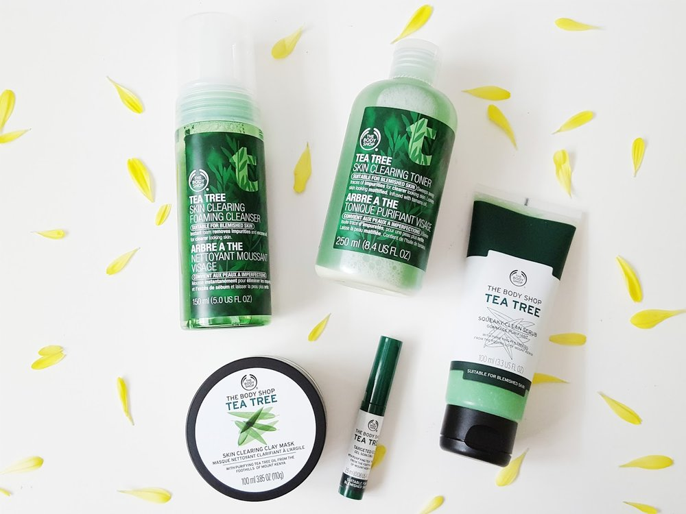 The Body Shop Tea Tree Range Review