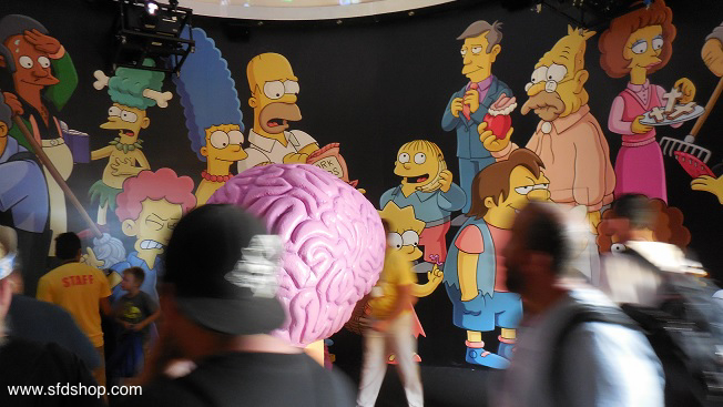 Simpsons SDCC HomerDome fabricated by SFDS -14.jpg