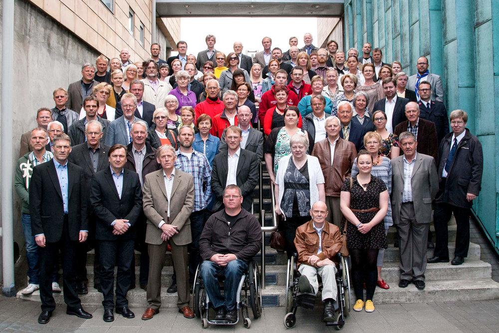 Frá úthlutun Pokasjóðs 2012