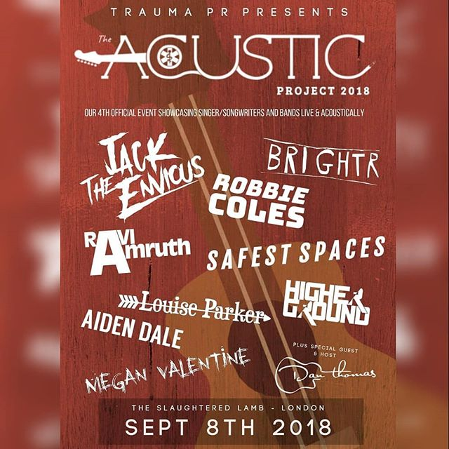 ☆▪°TOMORROW°▪☆ I am so excited to be included in the final line up of @traumaprpresents Acoustic Showcase in London! Doors at 6pm - £7 entry. Catch my set at 6.30!!!! 🖤🖤🖤 It's set to be a great evening featuring 9 more amazing alternative rock acts. Come down and support the local scene  #traumapr #traumaprpresents #alternativerock #poppunk  #poppunkgirl #emo #posthardcore #country #livemusic #ukband #ukmusic #londonmusicscene #goth #gothgirl #singer #songwriter #folk #darkfolk #acousticpoppunk #femalefrontedband #girlsthatrock #bandlife #tour #unplugged #liveacoustic #showcase #live #openmic #london