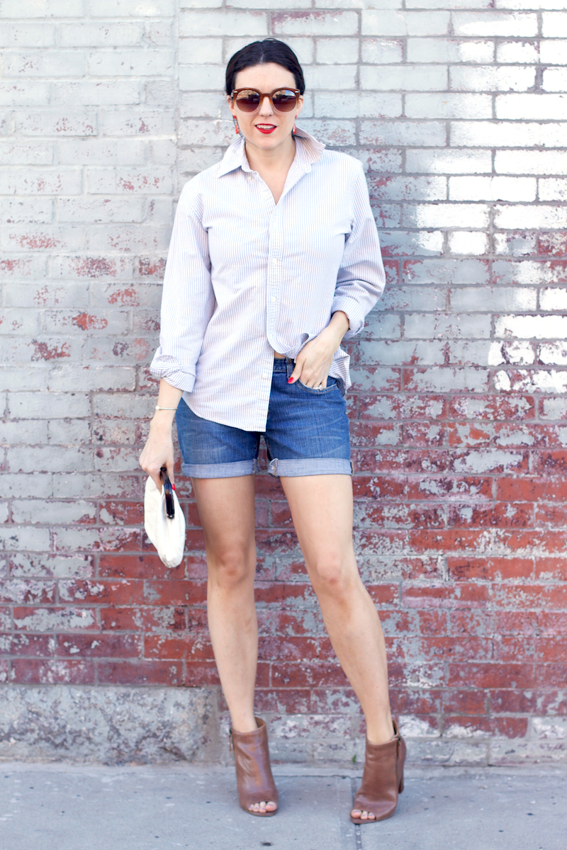 striped-shirt-denim-shorts-brown-booties.jpg