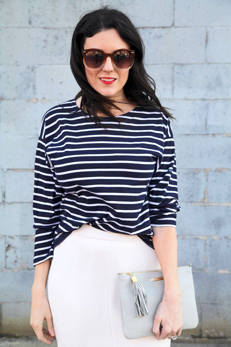 J.Crew-white-skirt-and-Armor-Lux-Striped-Shirt-5.jpg