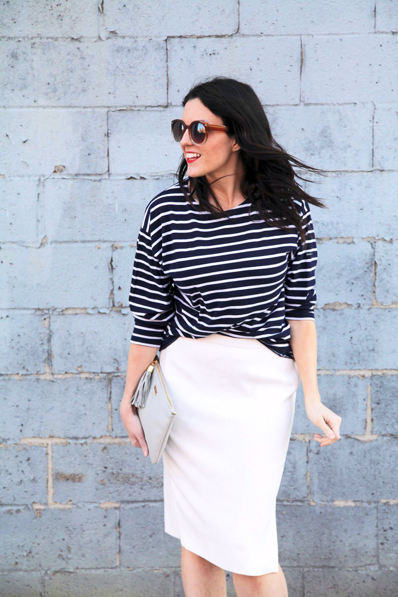 J.Crew-white-skirt-and-Armor-Lux-Striped-Shirt-8.jpg