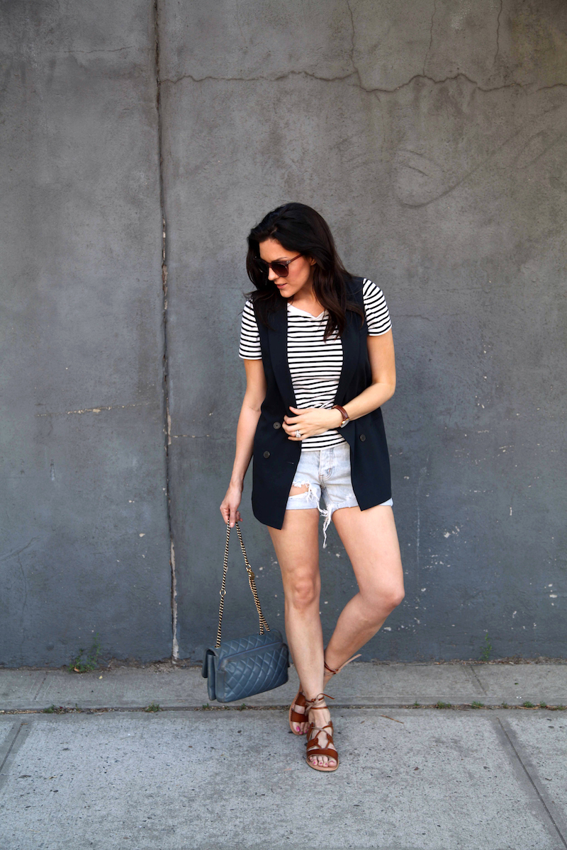 Banana-Republic-Vest-COS-shirt-One-teaspoon-shorts-Chanel-bag-Old-Navy-Sandals.jpg