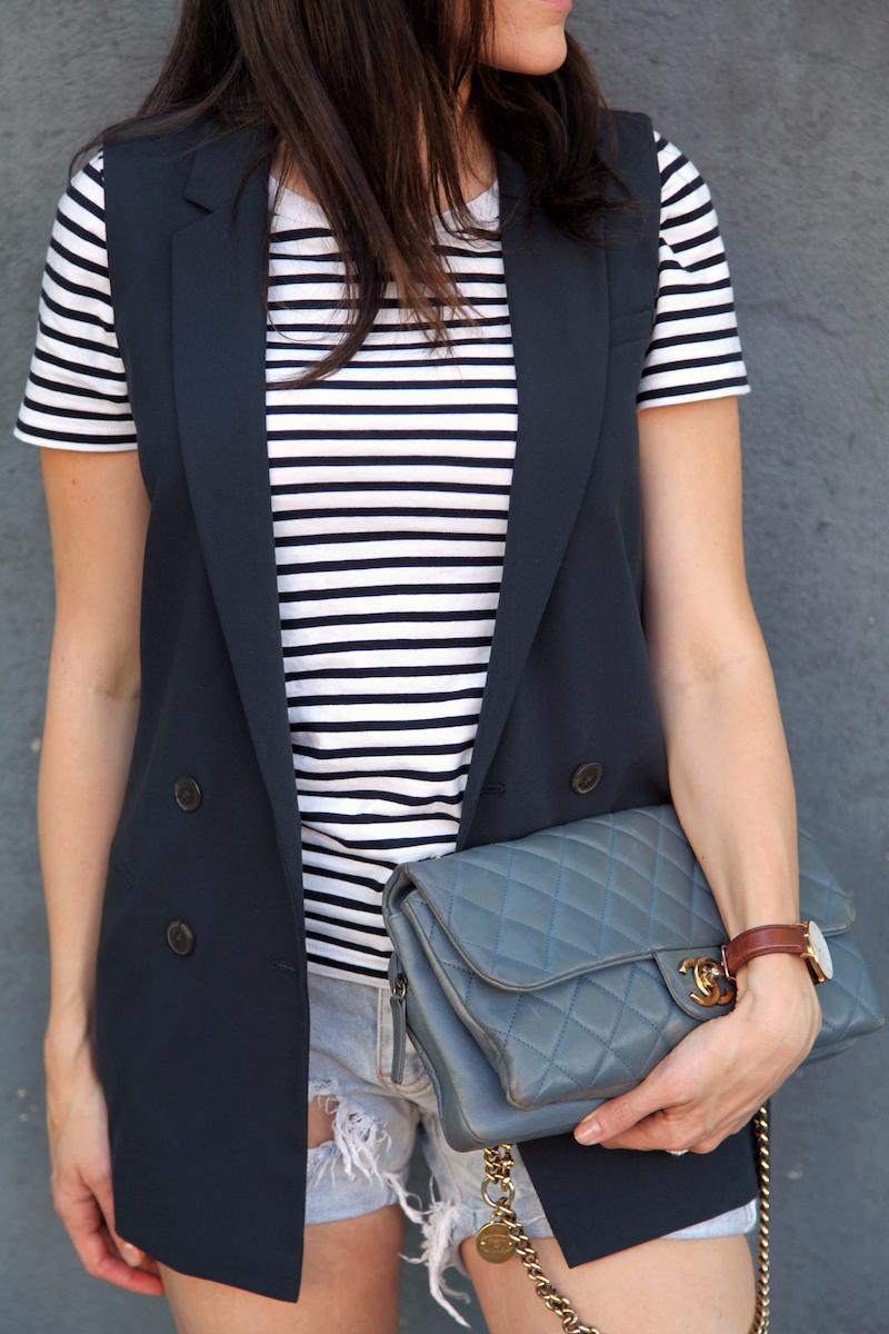 Banana-Republic-Vest-COS-shirt-One-teaspoon-shorts-Chanel-bag.jpg