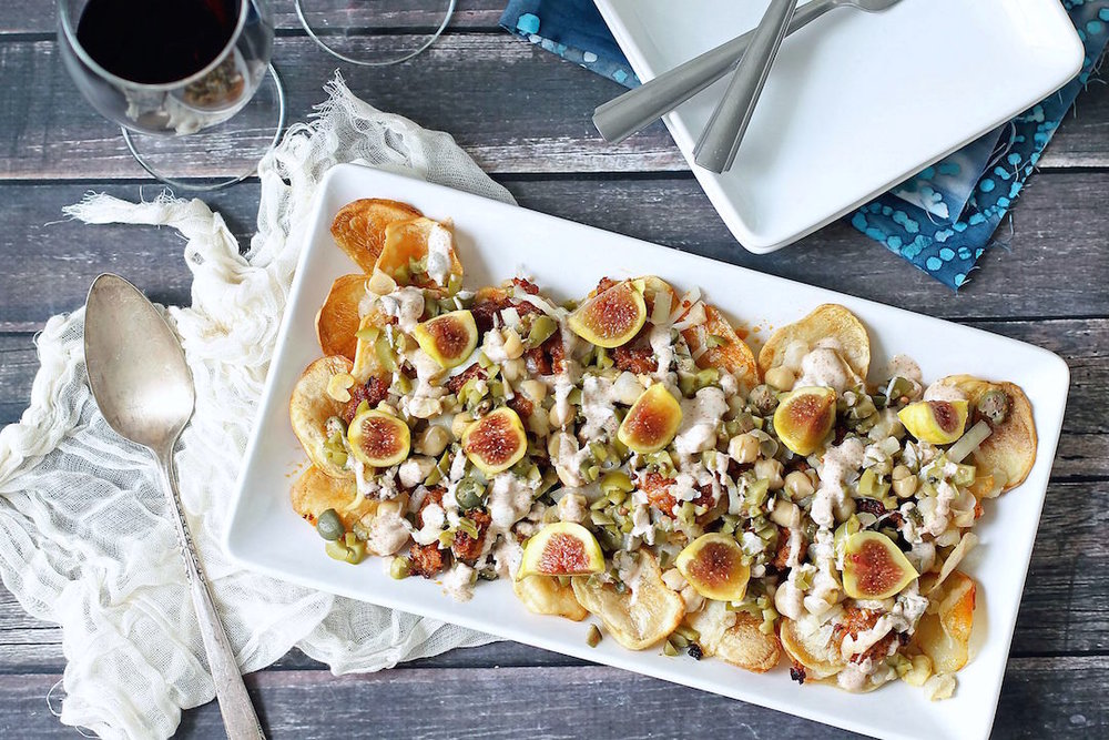 SPANISH NACHOS - serves 2-4
