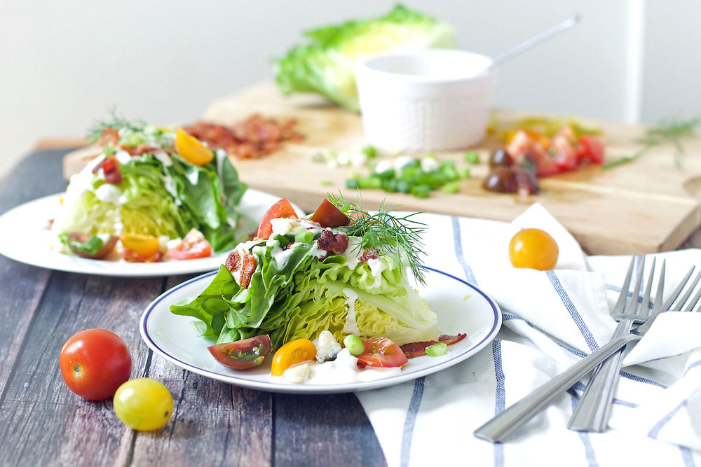 ELEVATEDWEDGE SALAD - yields 4