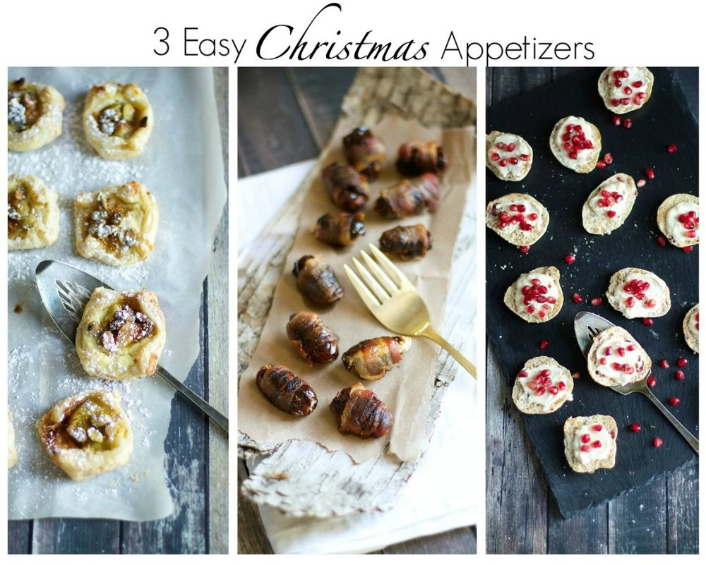 3 Easy Christmas Appetizers  Runway Chef