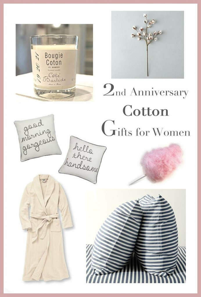 Second Year Wedding Anniversary Gifts: 2nd Anniversary Gifts For Her