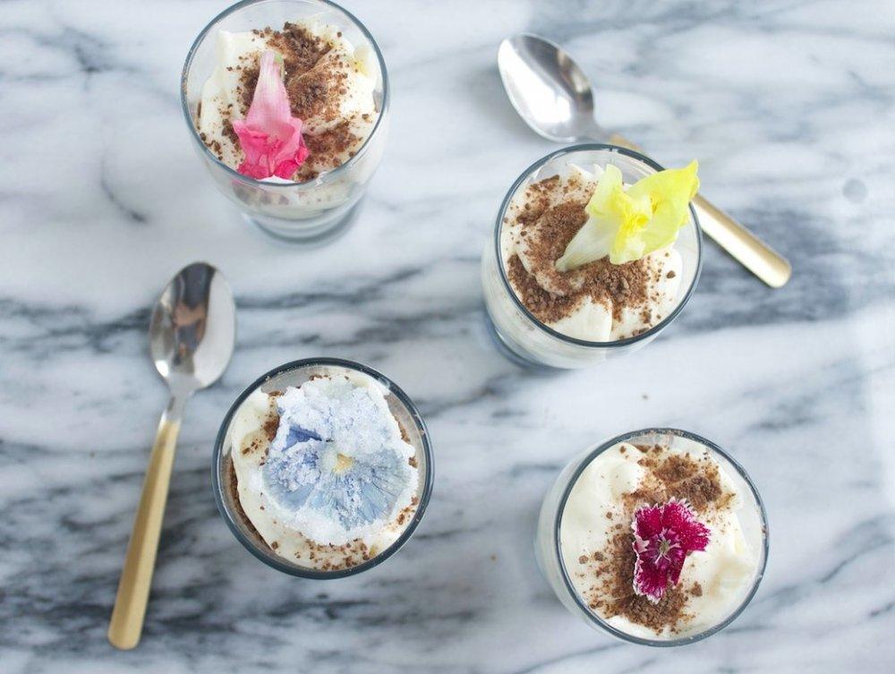 GROWN-UP DIRT CAKE CUPS - Serves 4