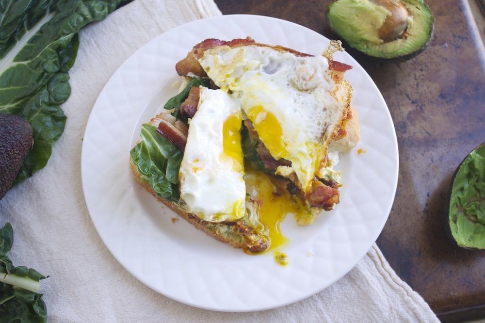 GROWN-UP BLT -