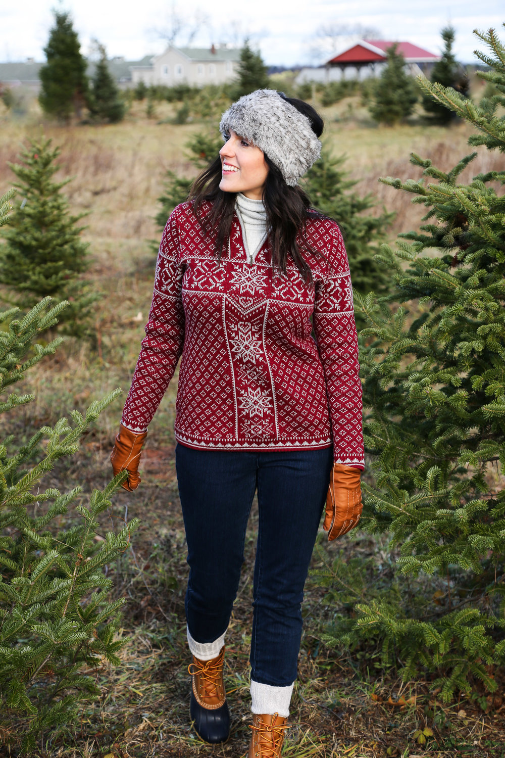 TREE CUTTING OUTFIT - ...but would also be great for cozying up in a cabin