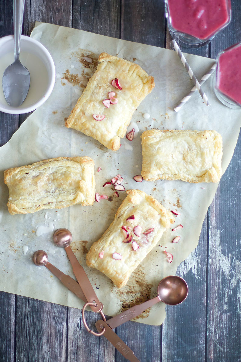 EASY CRANBERRY POPTARTS - a cozy, rustic treat, perfect for breakfast