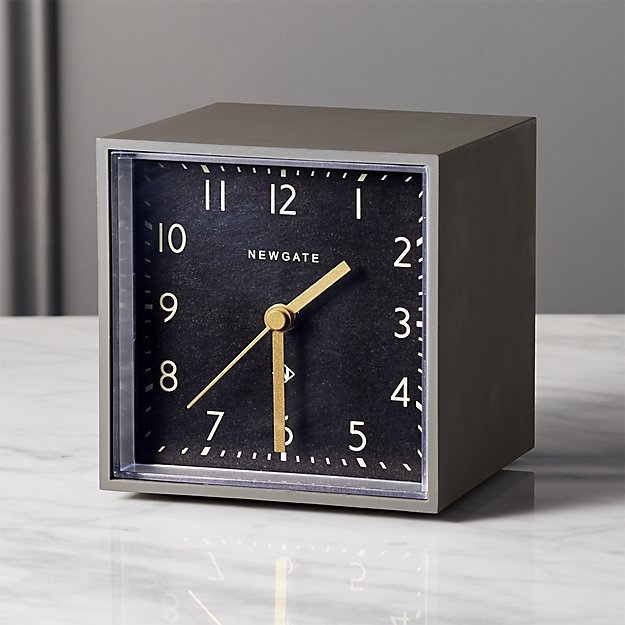 ALARM CLOCK - CB2, $39.95Order by 12/20 at 12pm CT