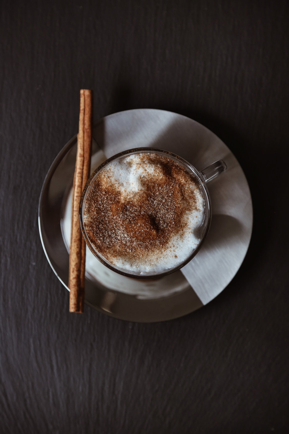 CINNAMON SUGAR LATTE - serves 1