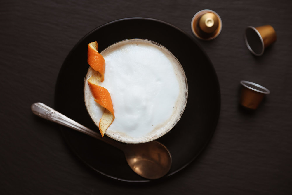 Dark Chocolate Orange Double Espresso Chocotini (virgin) - serves 1