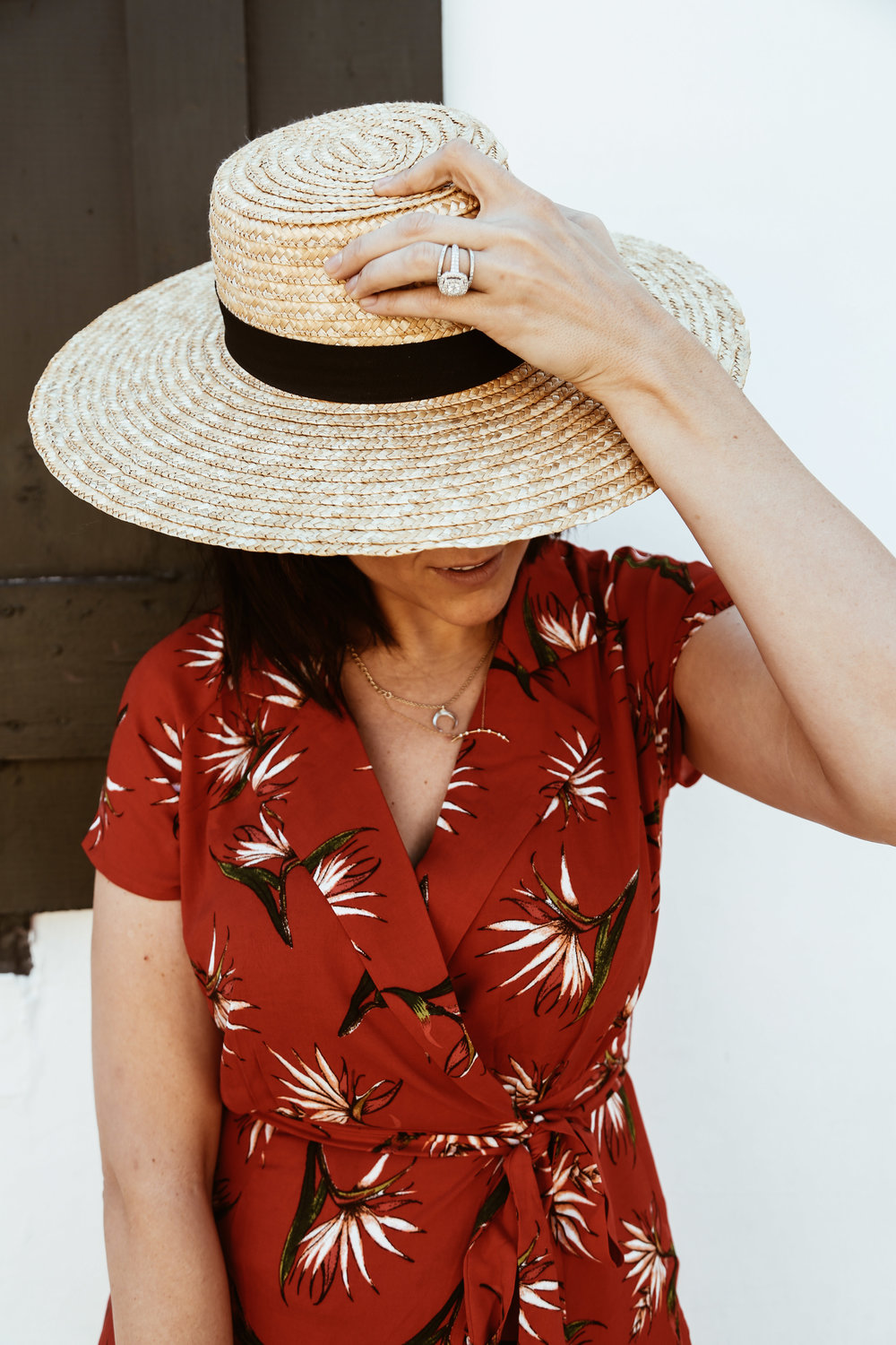 straw hat and red dress.jpg