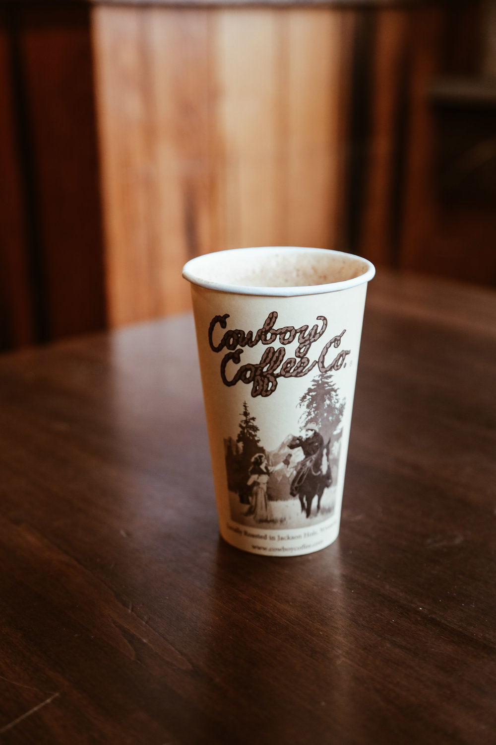 The Honey Badger Latte at Cowboy Coffee