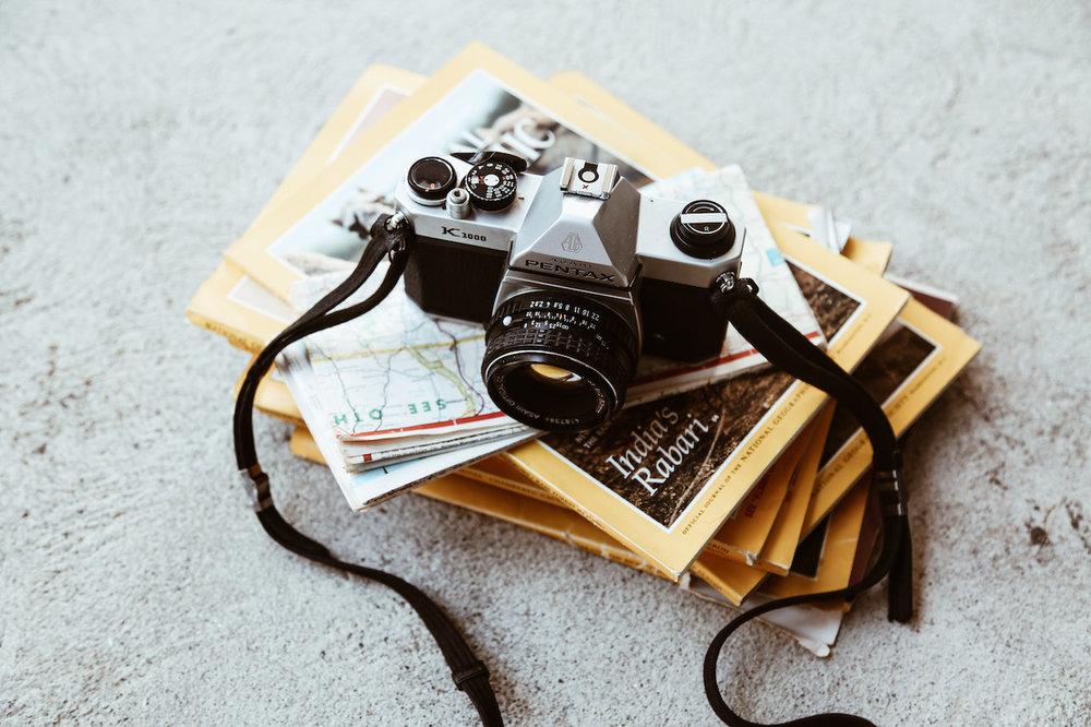 camera equipment - snap, snap!