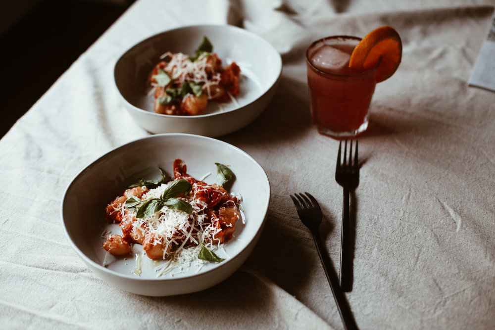 THE 5 MINUTE CAULIFLOWER GNOCCHI RECIPE YOU NEED IN YOUR LIFE - MAIN DISHES // FEATURED STORY