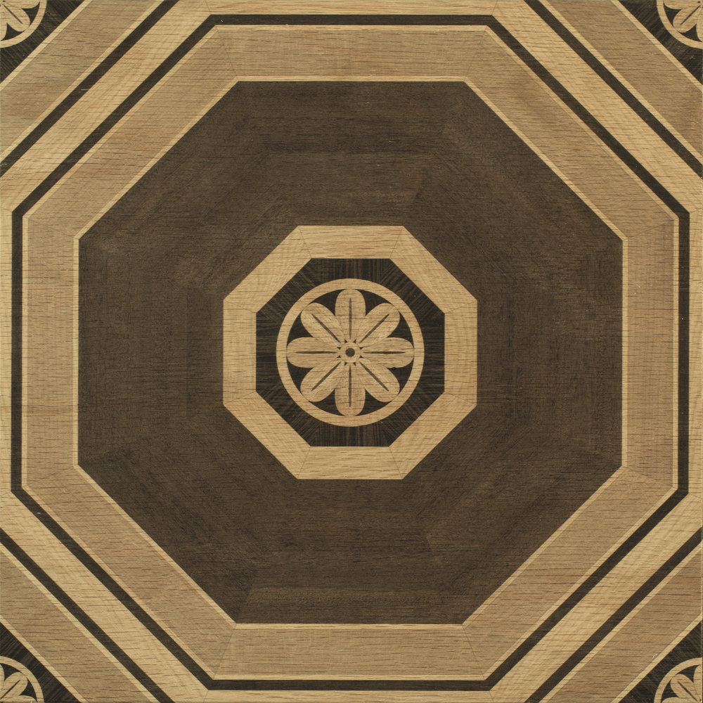 Stately Octagon (Natural)