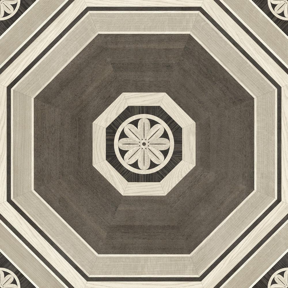 Stately Octagon (Gray)